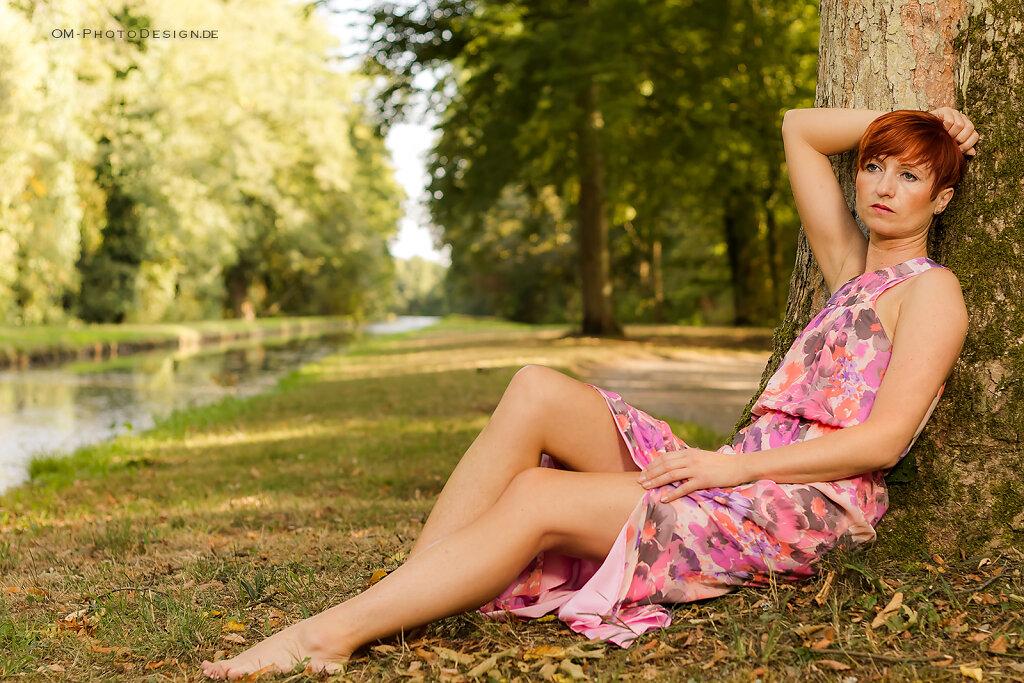 Tatjana - Shooting im Park