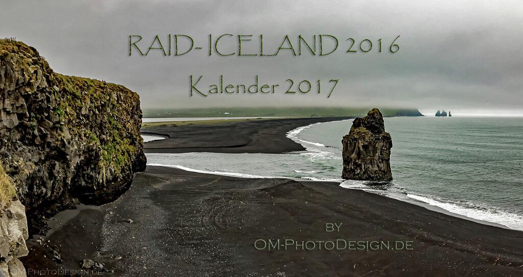 Kalender Raid Iceland 2017